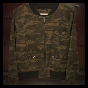 NWT Sanctuary Camo Bomber Jacket
